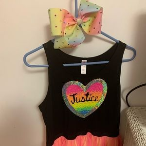 Justice dresses! Both for one price!